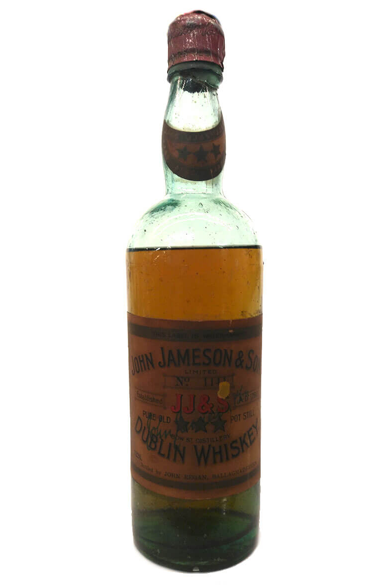 jameson pre 1919 j regan bottling