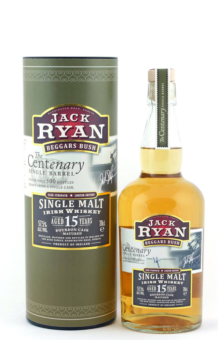 Jack Ryans Beggars Bush 15 Year Old Single Malt