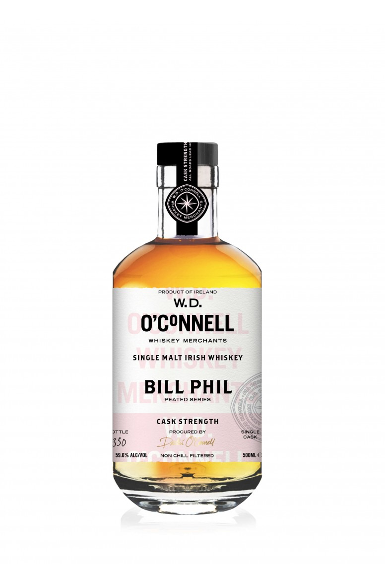W.D. O' Connells Bill Phil Cask Strength 59.6%