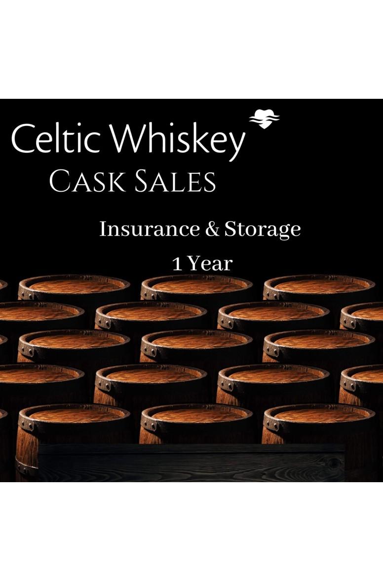 Celtic Cask Storage & Insurance 12 Months