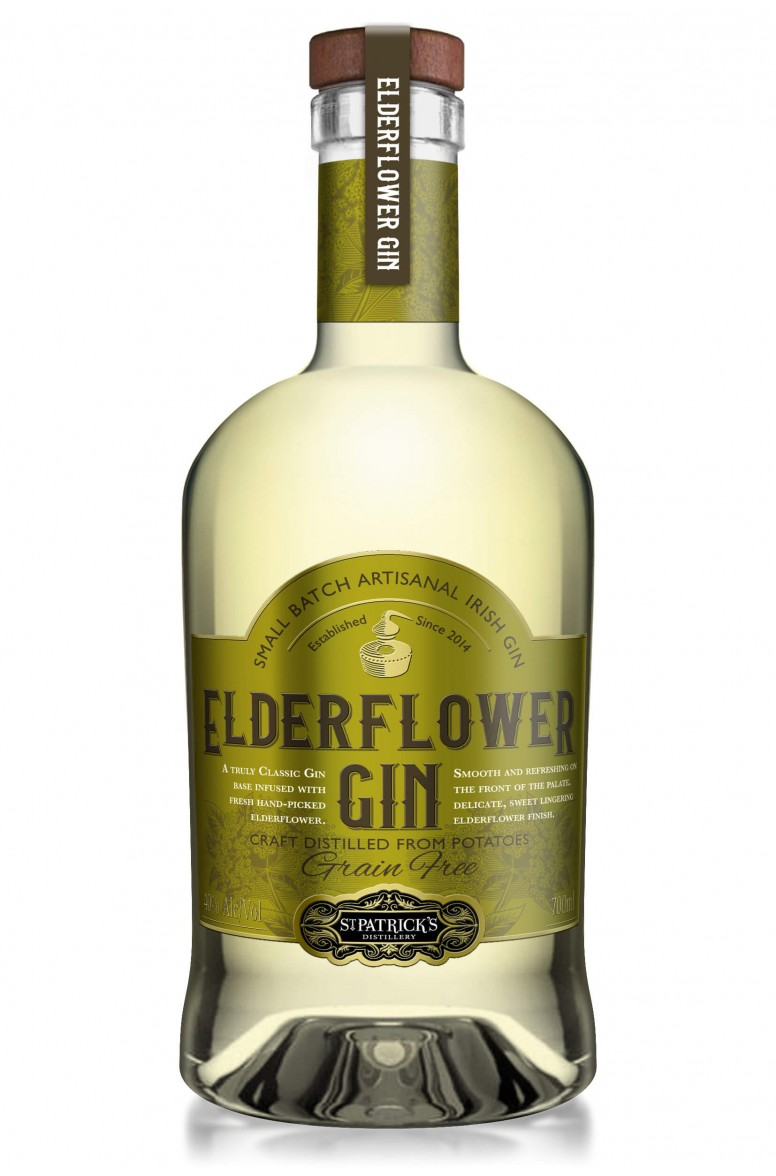 St Patrick's Elderflower Gin