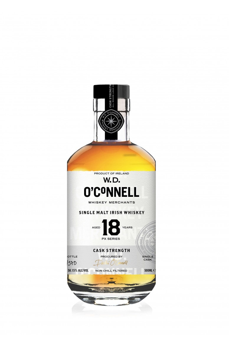 W.D. O' Connells PX 18 Year Old Cask Strength 58.15%