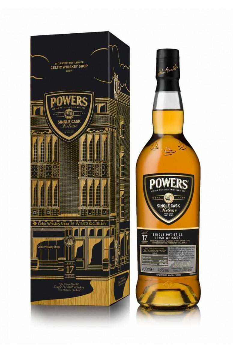 Powers 17 Year Old Single Cask 15856 Single Pot Still
