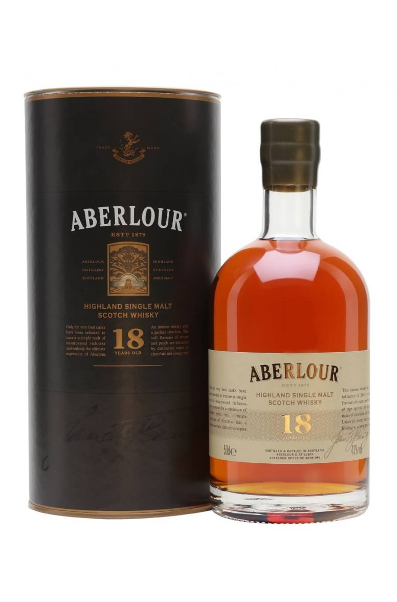 Aberlour 18 Year Old 50cl