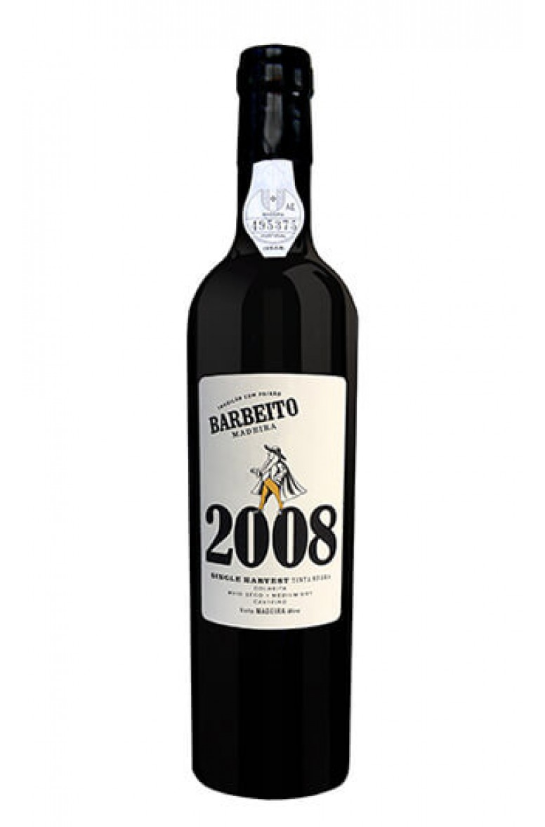 Barbeito Single Harvest 2008 50cl