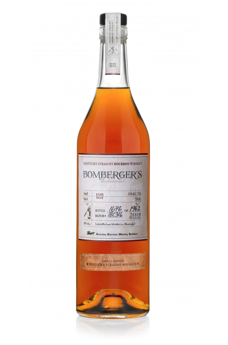 Bomberger's Declaration Bourbon 2018 Release