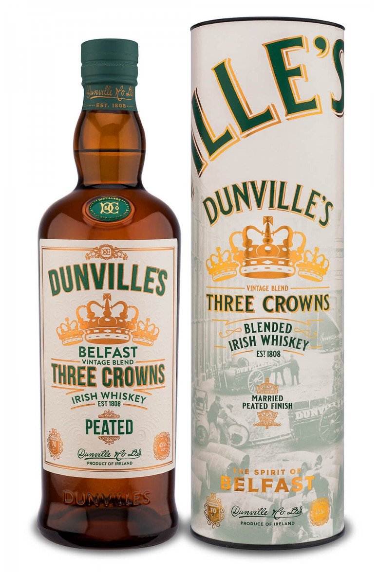 Dunvilles Three Crowns Peated
