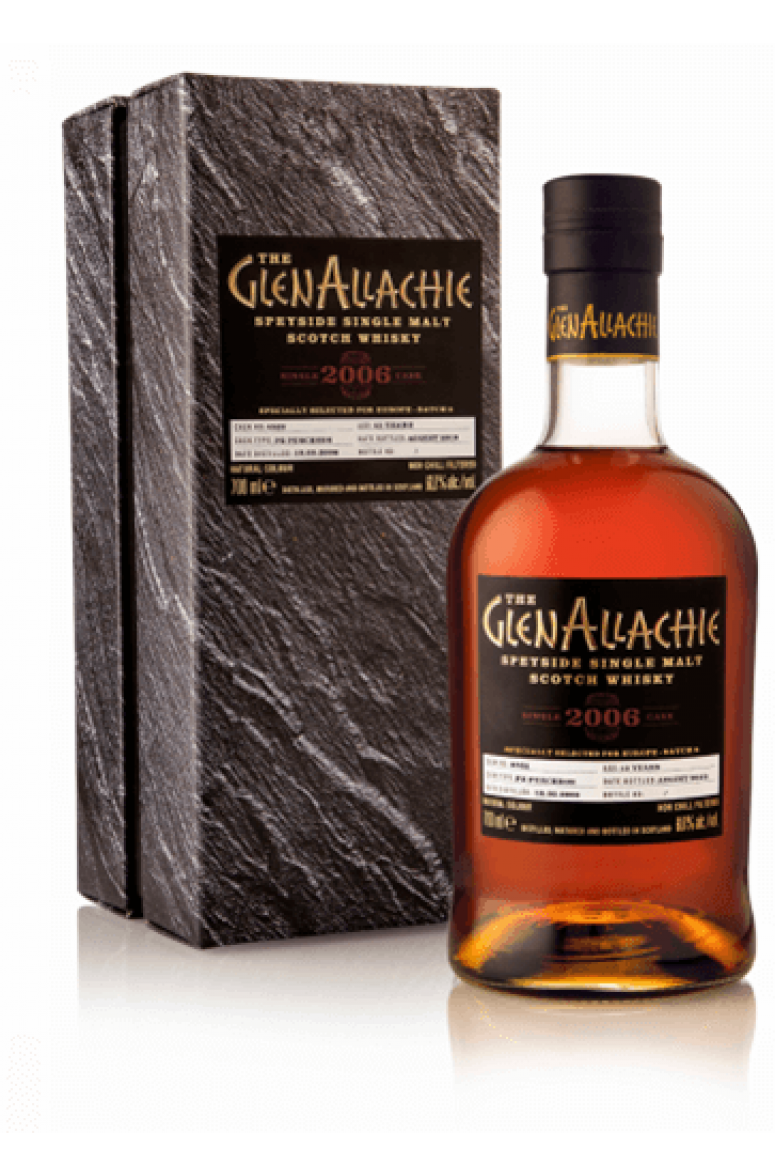GlenAllachie 2006 #4522 13 Year Old Single Cask