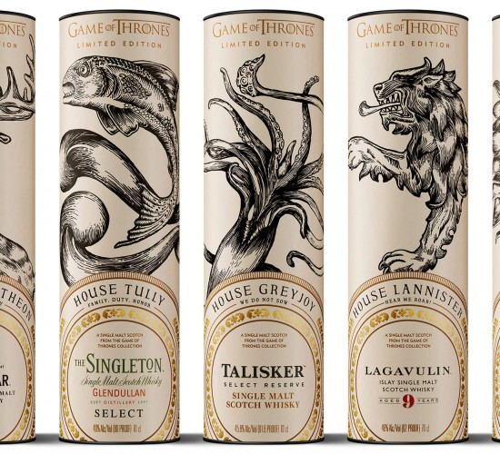 Game of Thrones Whisky Tasting Thursday 23rd May