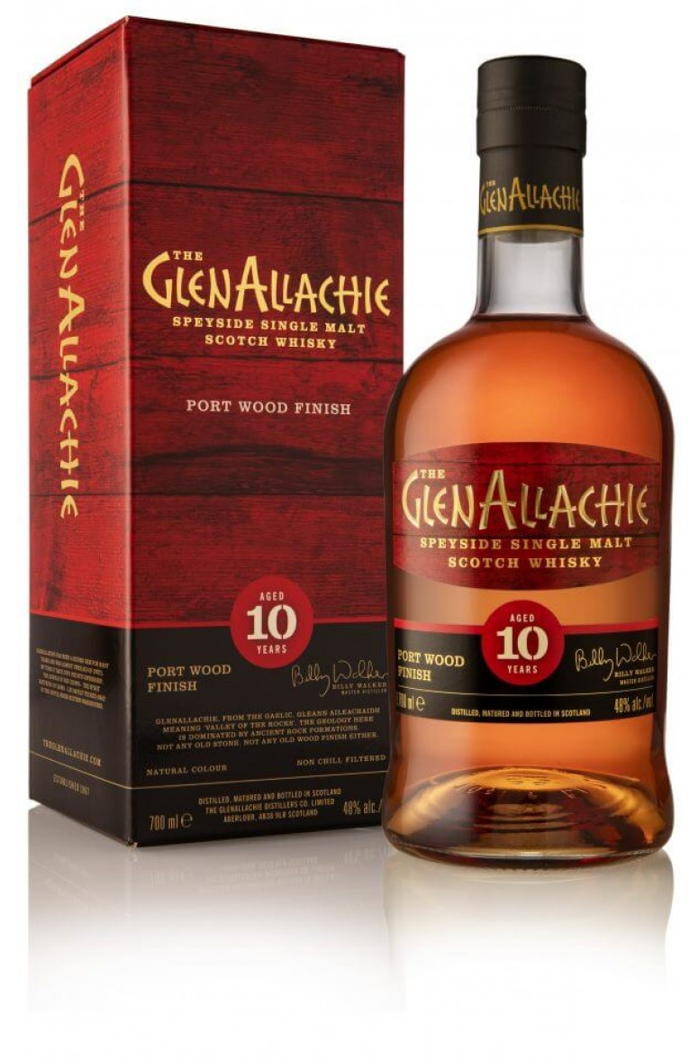GlenAllachie Port Wood Finish 10 Year Old
