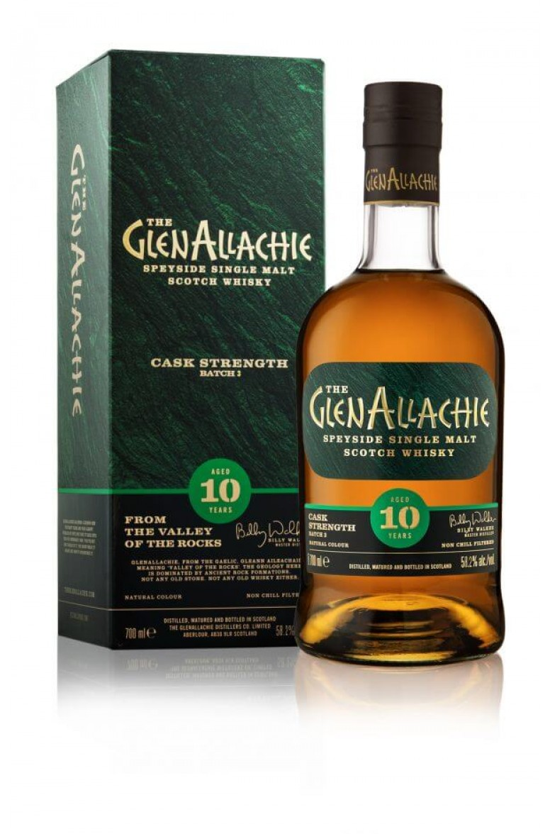 Glenallachie Cask Strength 10 Year Old Batch 3