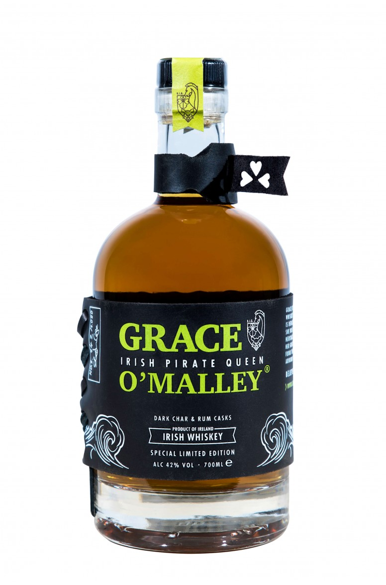 Grace O'Malley Dark Char & Rum Cask Limited Edition