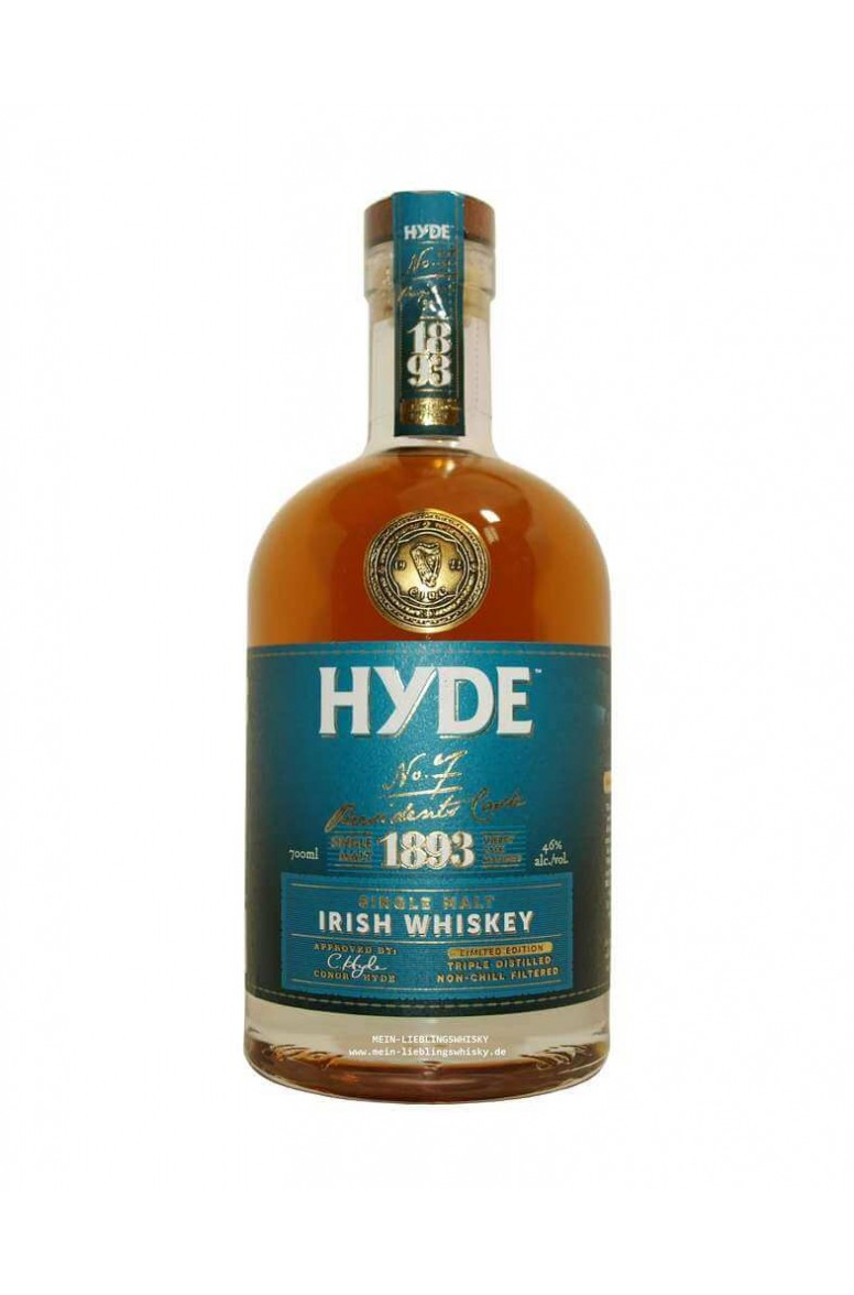 Hyde No. 7 6 Year Old Single Malt 1893