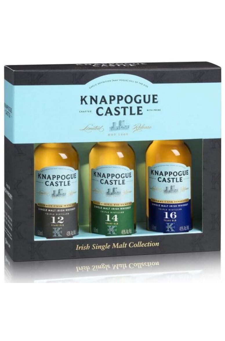 Knappogue Mini Pack 3 x 5cl