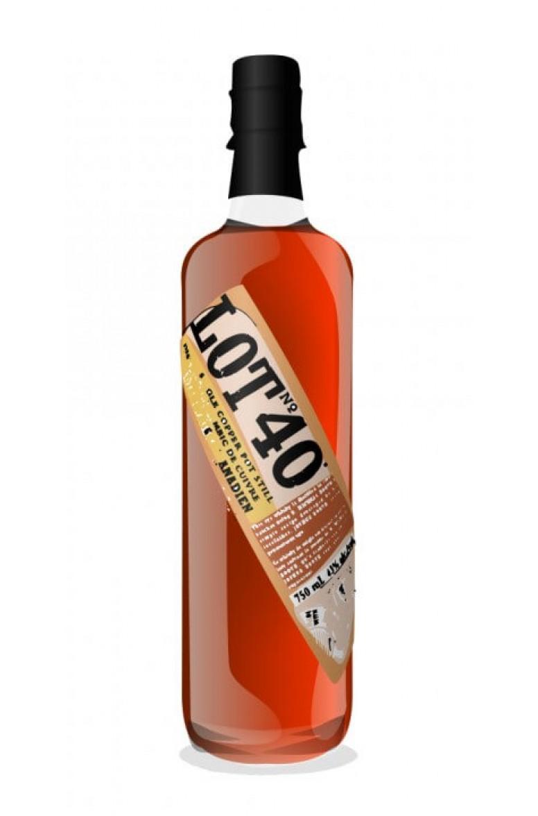 Lot No. 40 Rye Whiskey