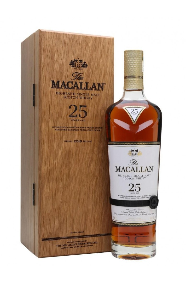 Macallan 25 Year Old 2018