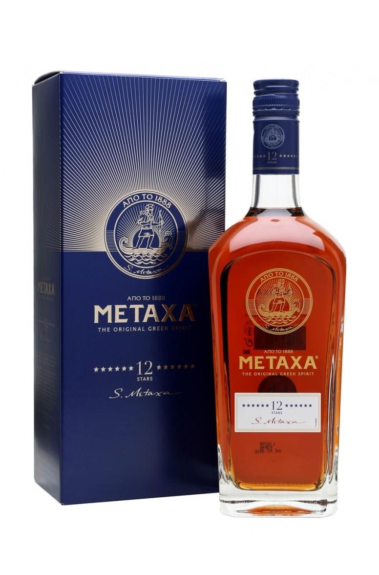 Metaxa Brandy 12 Stars