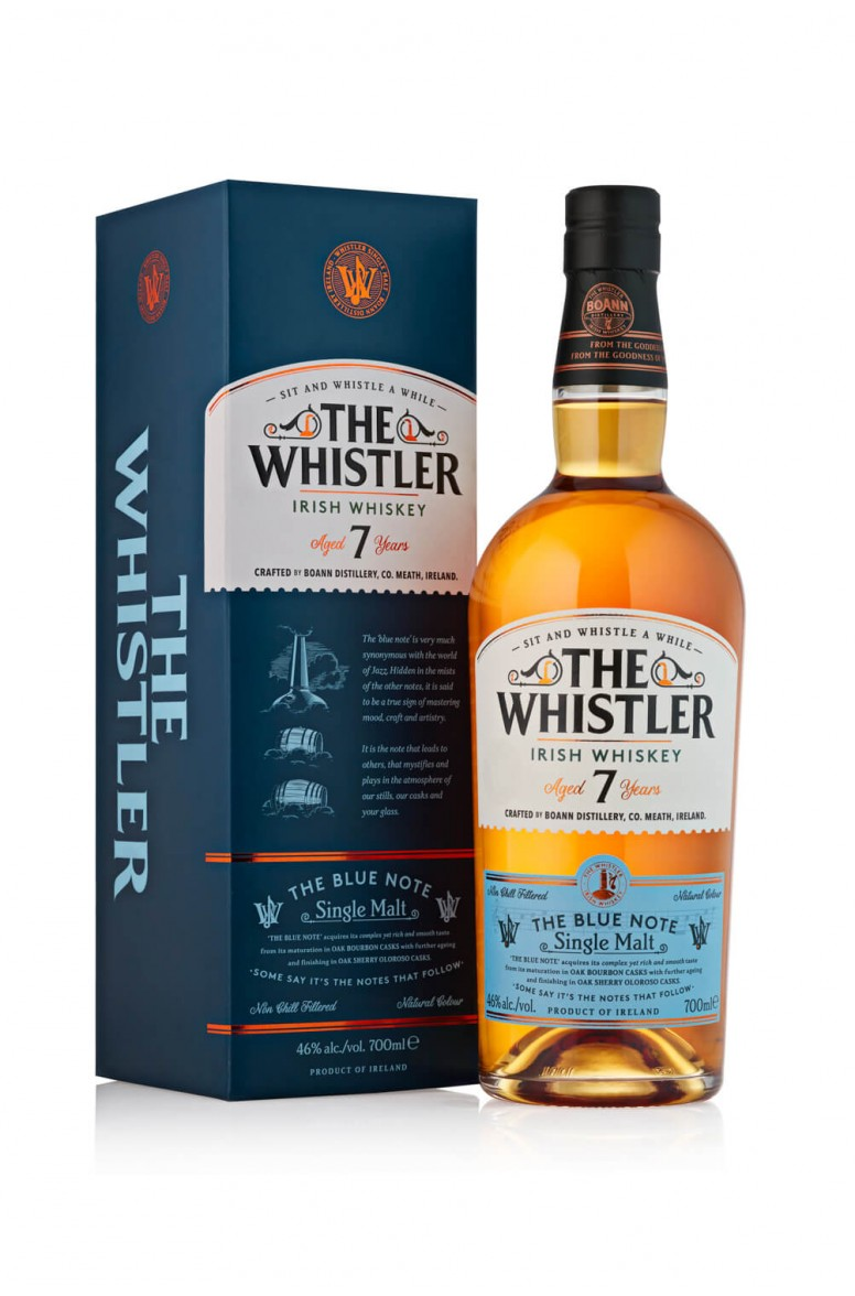 The Whistler 7 Year Old Blue Note
