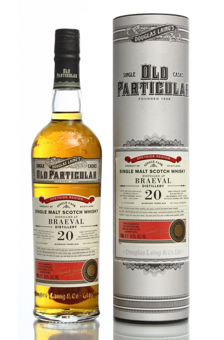 Old Particular 20 Year Old Single Malt