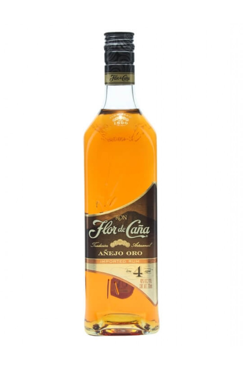 Flor de Cana 4 Year Old Gold 75cl