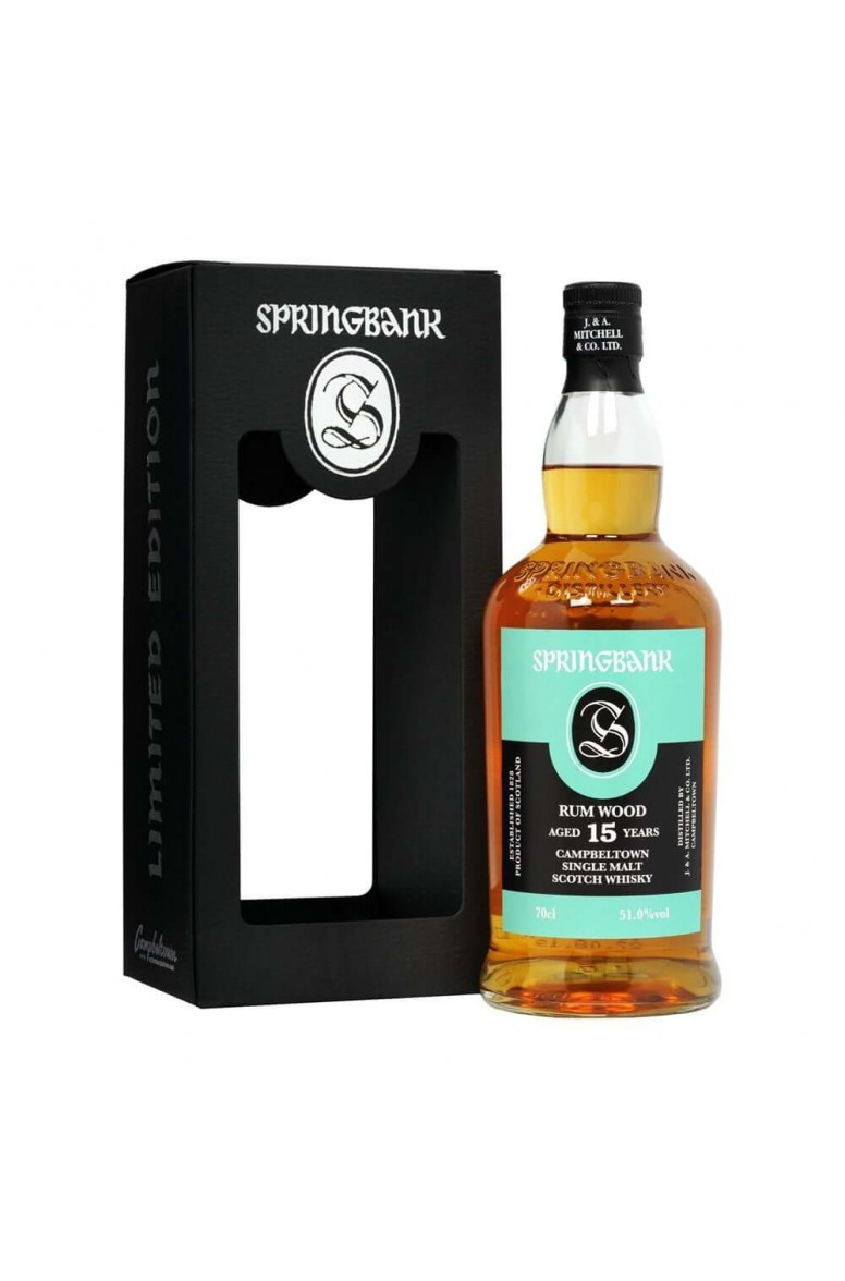 Springbank 15 Year Old Rum Wood