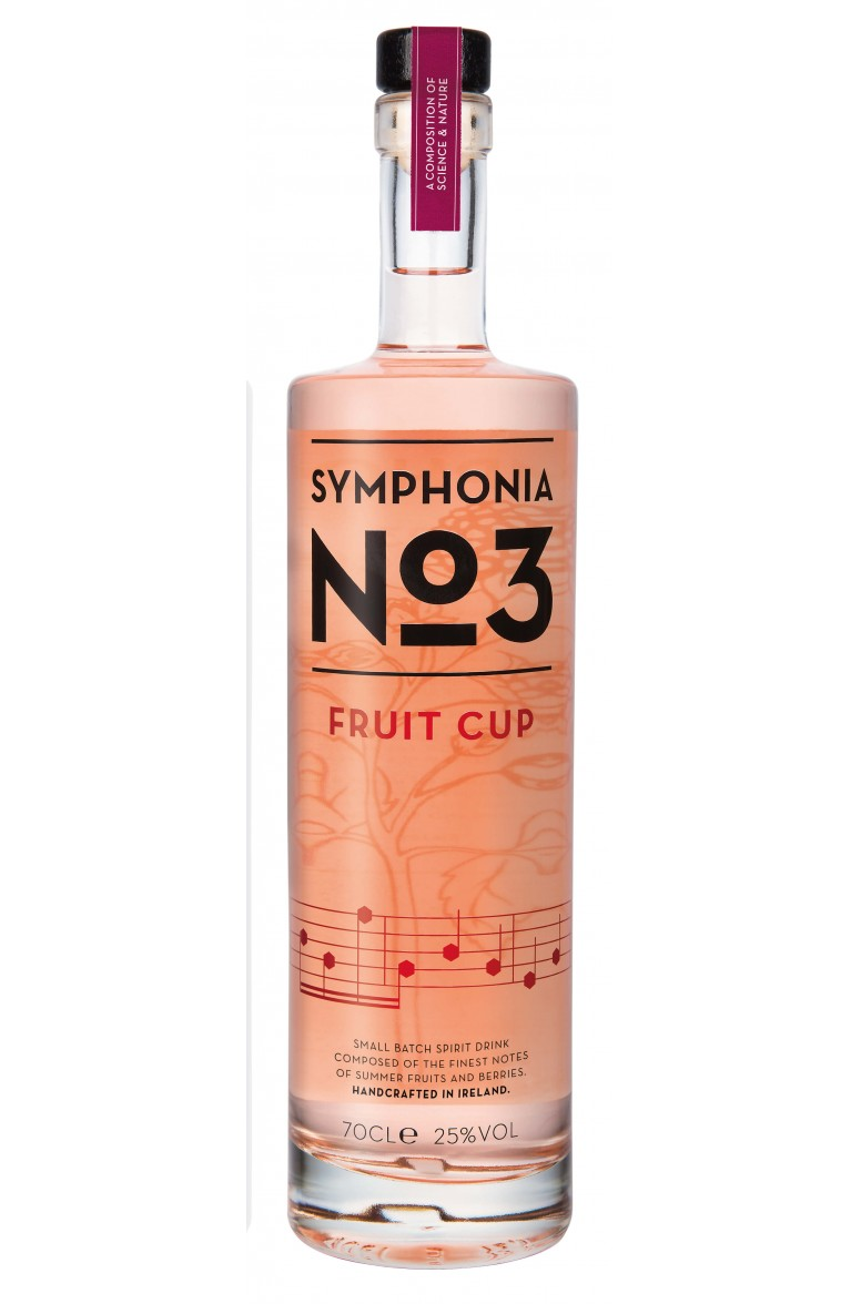 Symphonia No.3 Summer Fruit Cup Gin 70cl