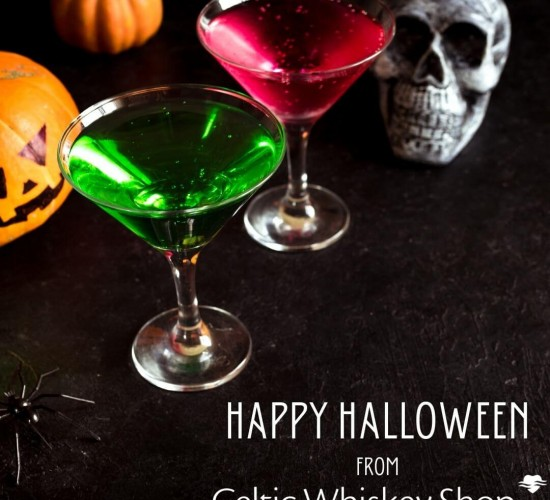 Halloween Cocktails with Celtic Whiskey
