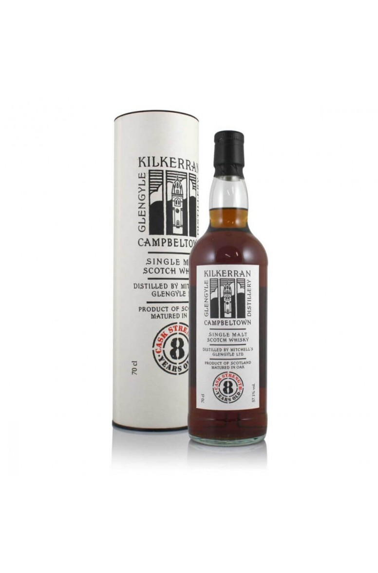 Kilkerran 8 Year Old Sherry Cask Strength