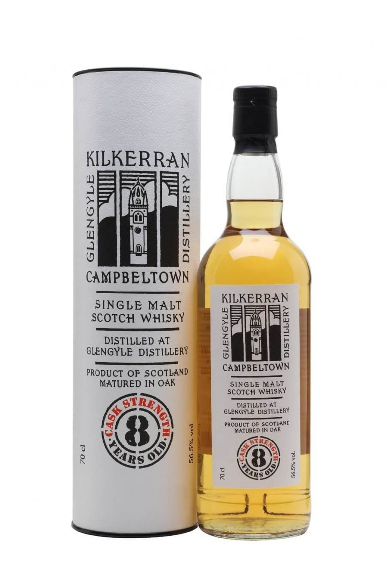 Kilkerran 8 Year Old Cask Strength 56.5%