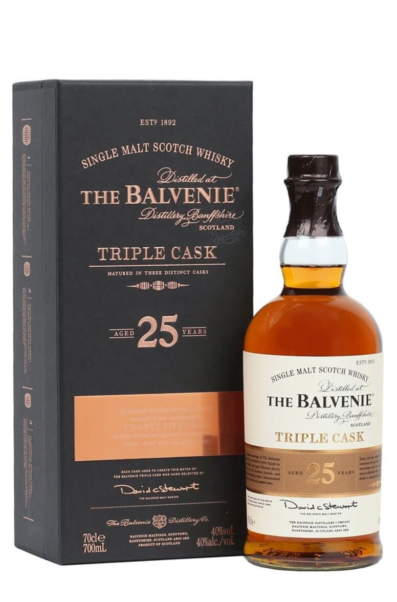 Balvenie 25 Year Old triple Cask 70cl