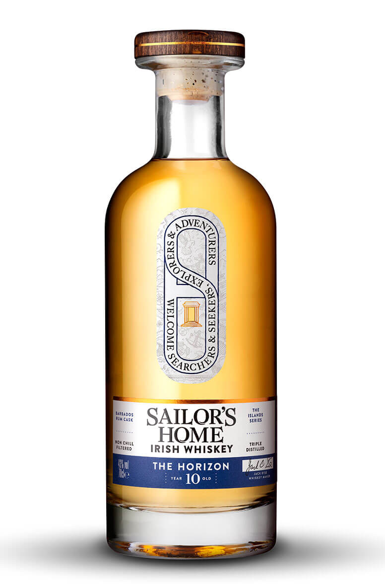 Sailor's Home The Horizon 10 Year Old Blended Irish Whiskey