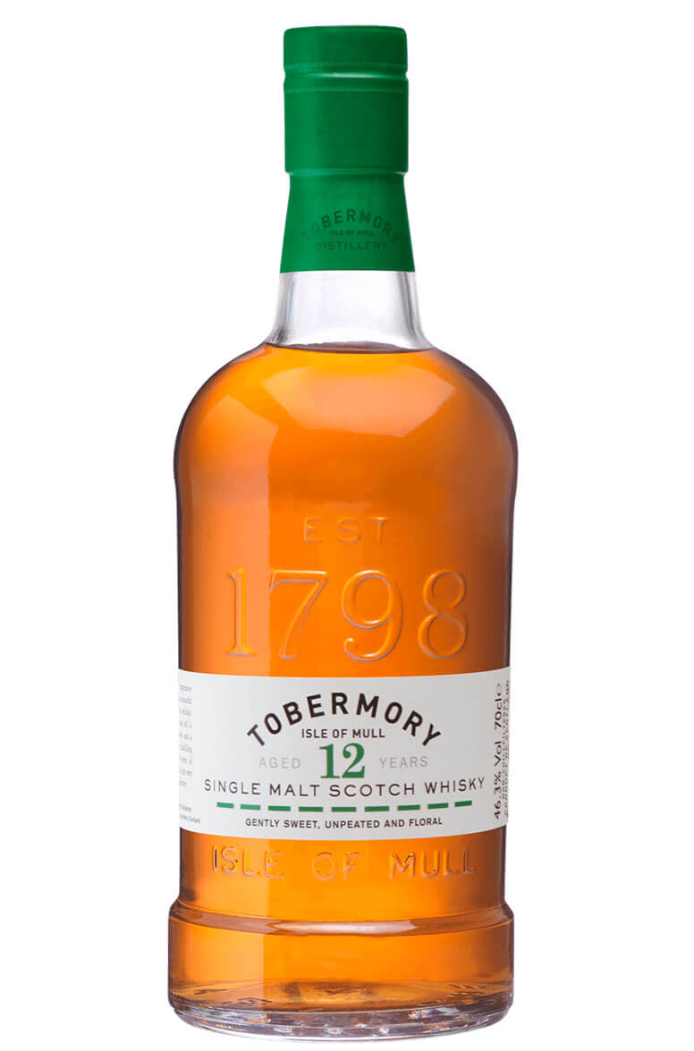 Tobermory 12 Year Old Single Malt