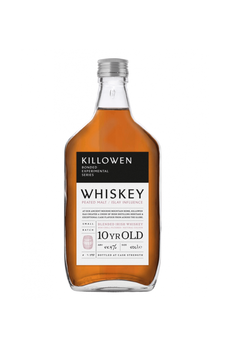 Killowen Small Batch Peated Islay Influence Experimental Bonded Series Whiskey