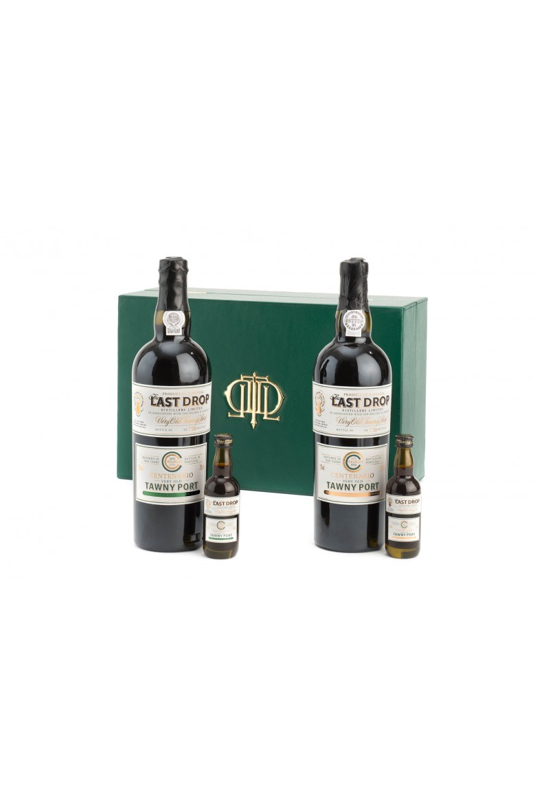 The Last Drop Centenario, Duo of Old Colheita Tawny Ports from 1870 and 1970