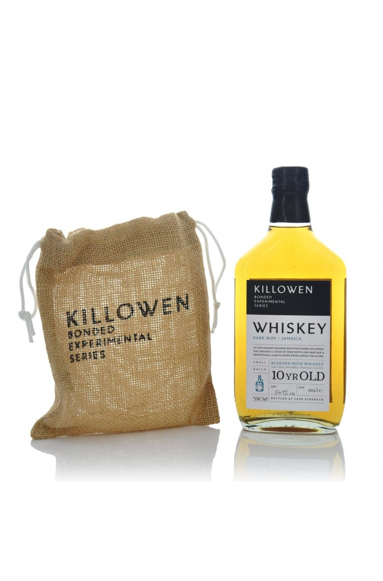 Killowen Small Batch Experimental Bonded Series Whiskey - Jamaican Dark Rum Cask