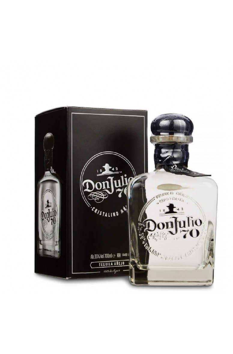 Don Julio 70 Anejo Cristalino