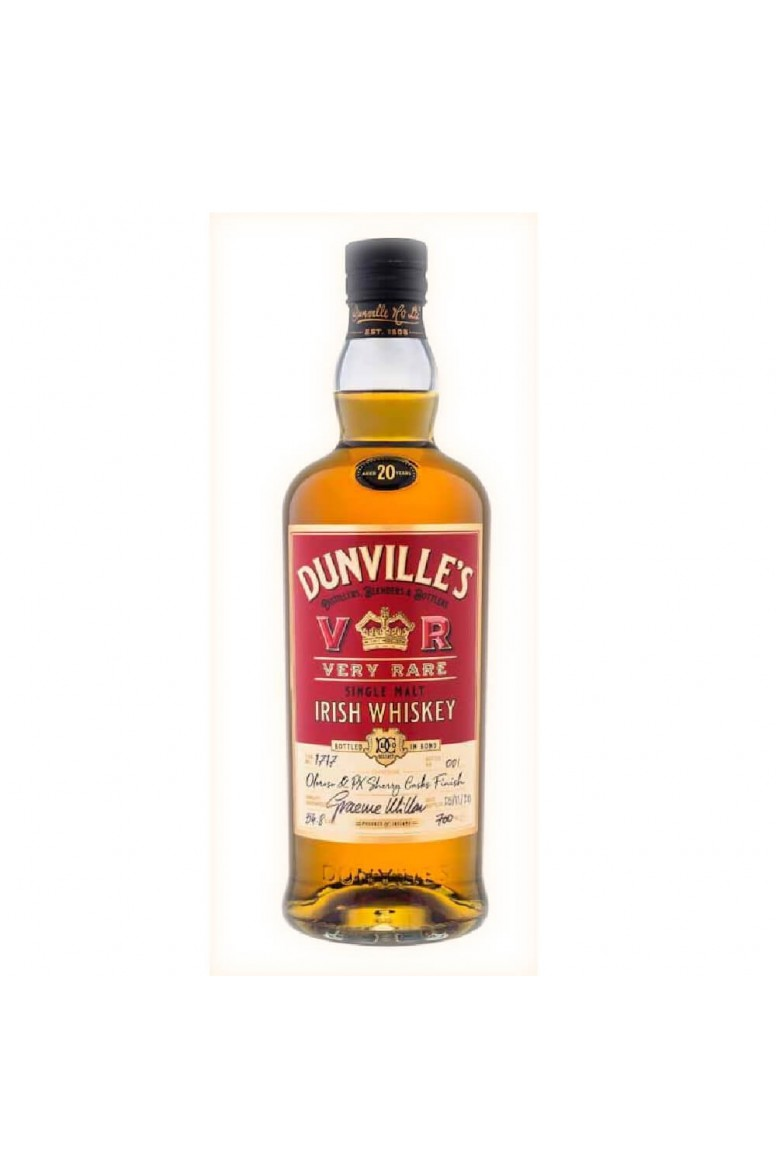 Dunville's 20 Year Old Oloroso & PX Sherry Casks Finish