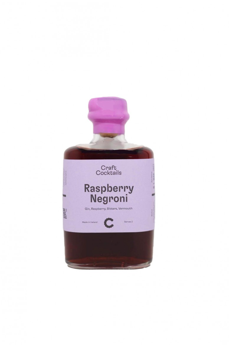 Craft Cocktail Raspberry Negroni 20cl