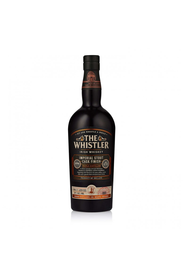 The Whistler Imperial Stout Cask Finish (+ 1 FREE bottle of Boyne Valley Imperial Stout Beer 33cl with IRISH ORDERS ONLY)