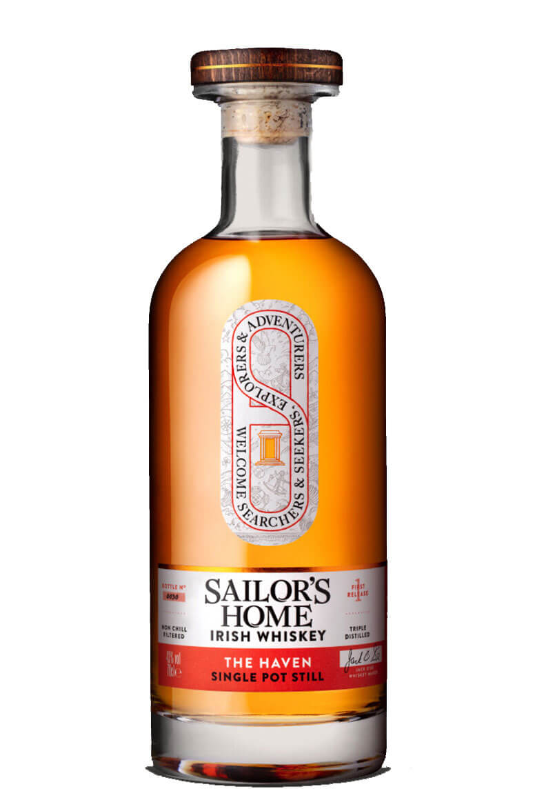 Sailor's Home The Haven Single Pot Still Irish Whiskey