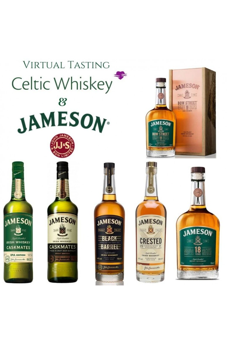 Jameson Tasting Pack EU Based Customers Including Delivery
