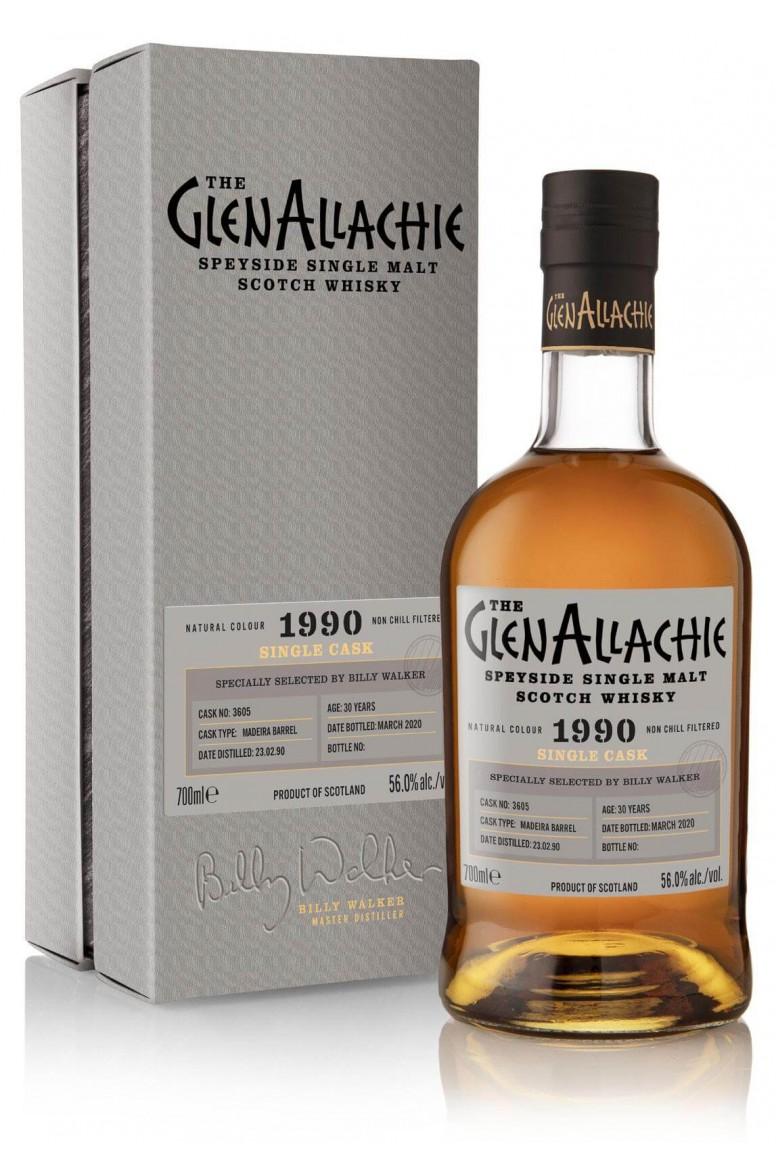 GlenAllachie #3605 1990 Single Cask