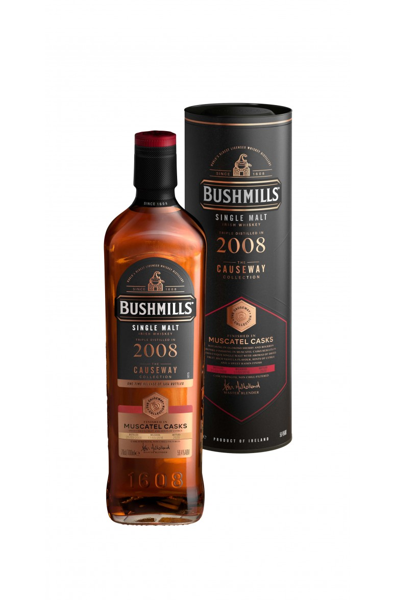 Bushmills Causeway Collection 2008 Muscatel Cask
