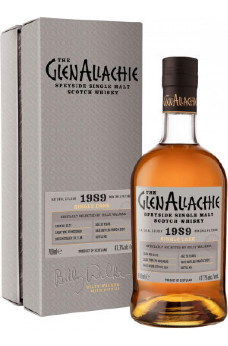 GlenAllachie #6121 1989 Single Cask