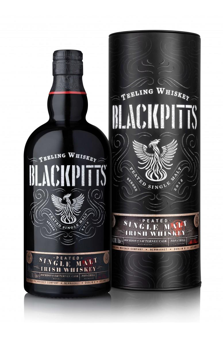 Teeling Blackpitts Single Malt Whiskey