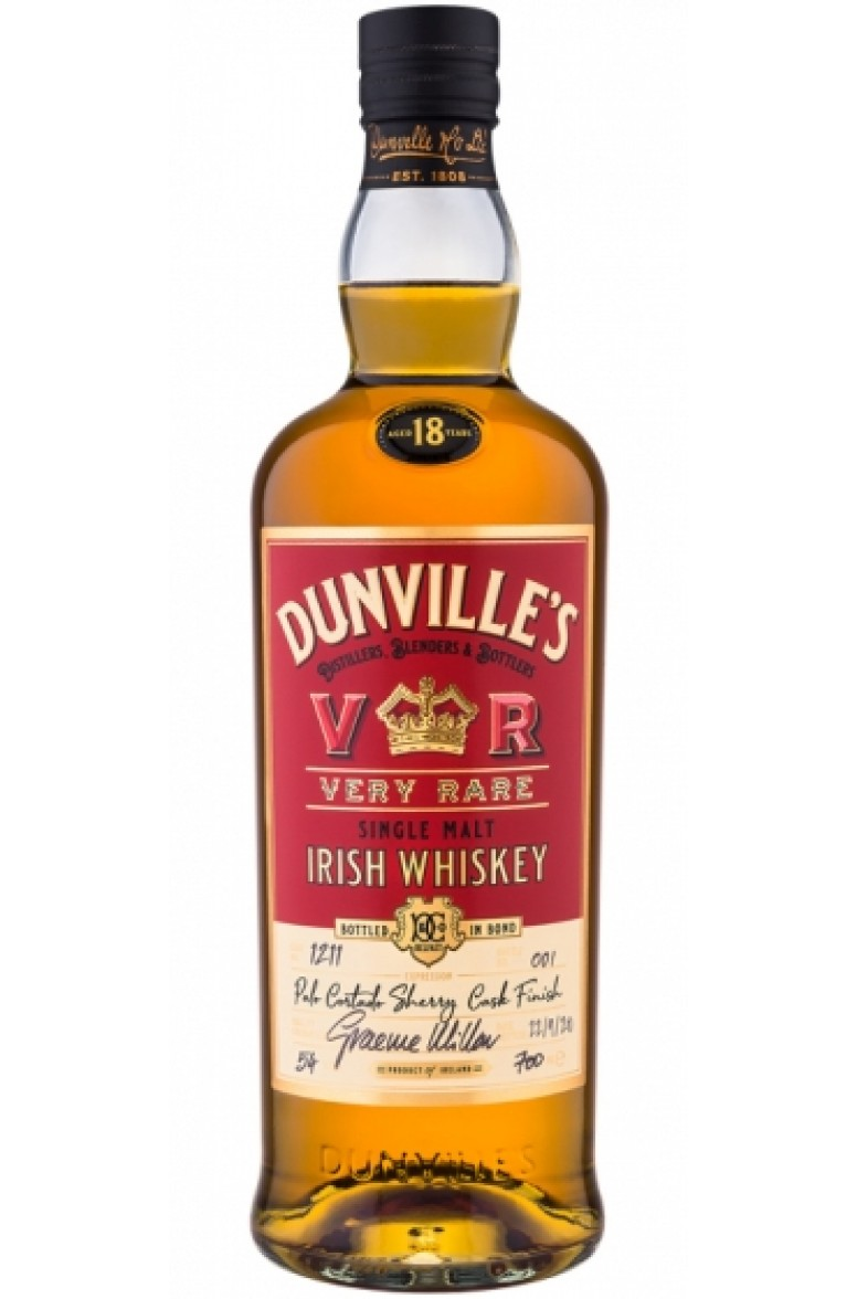 Dunville's 18 Year Old Palo Cortado Finish Cask #1211