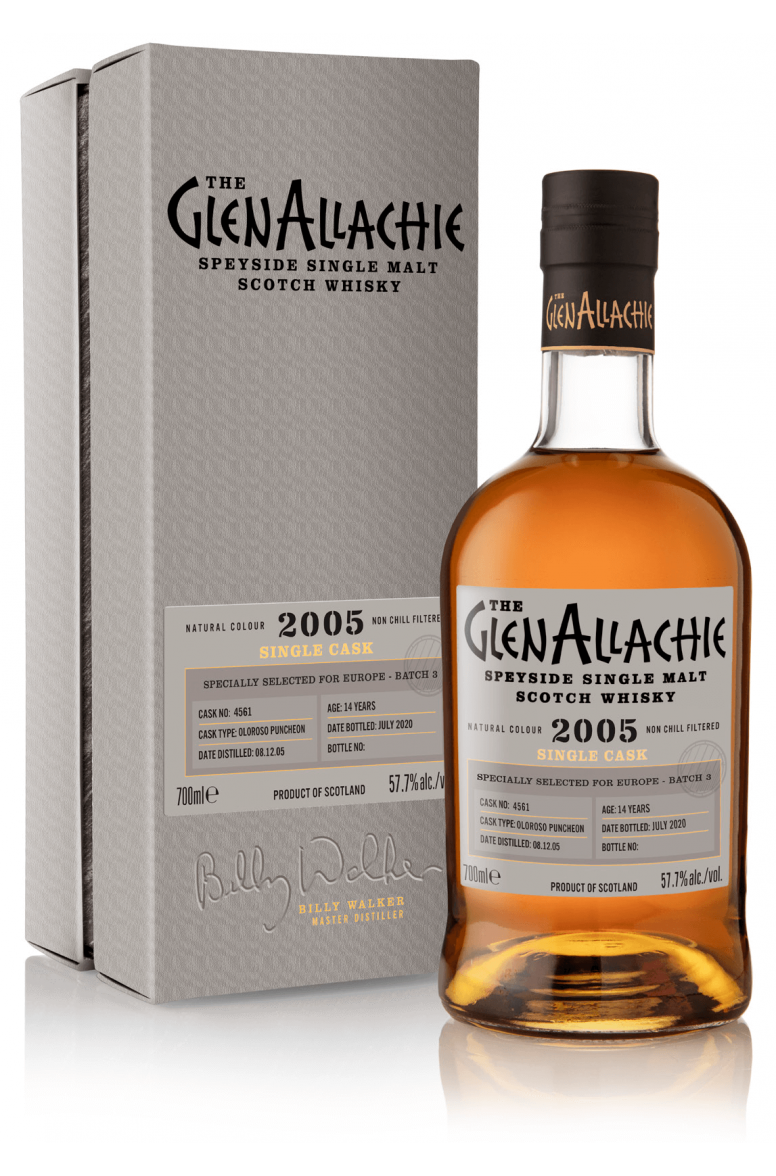 GlenAllachie #4561 2005 Single Cask