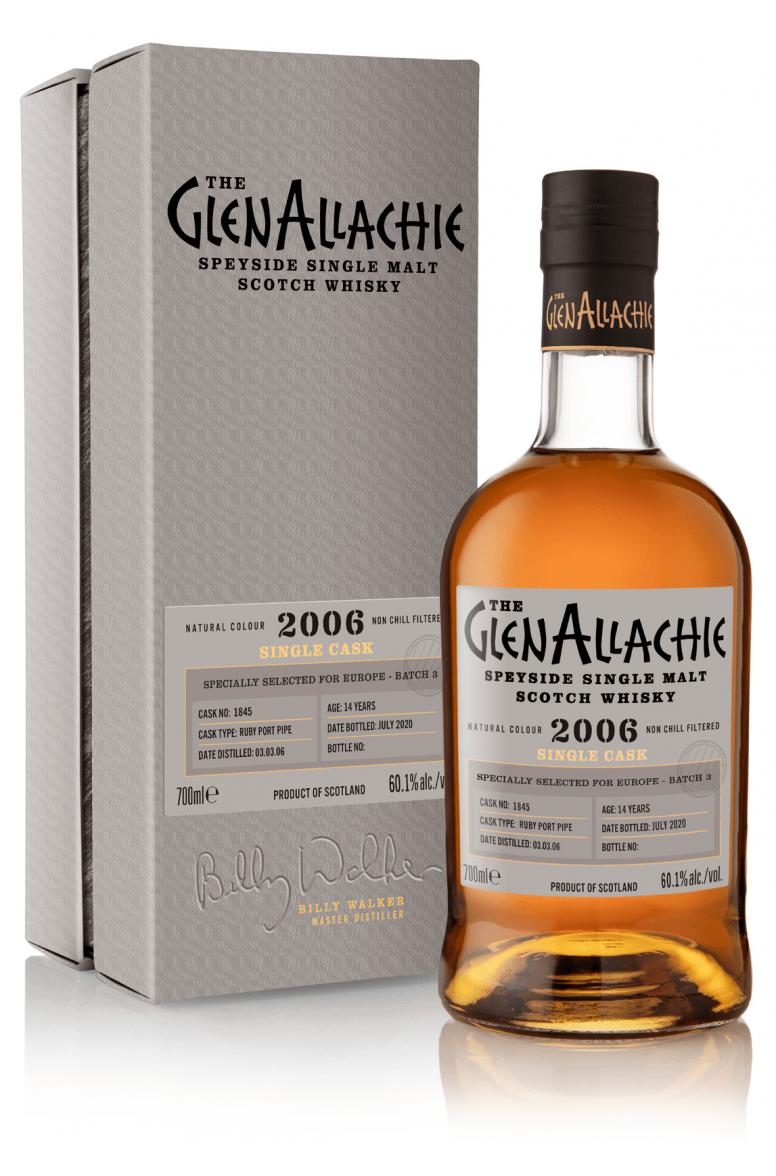 GlenAllachie #1845 2006 Single Cask