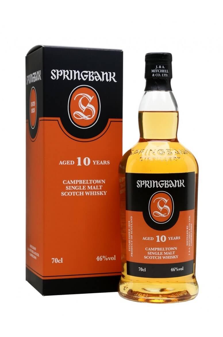 Springbank 10 Year Old Single Malt