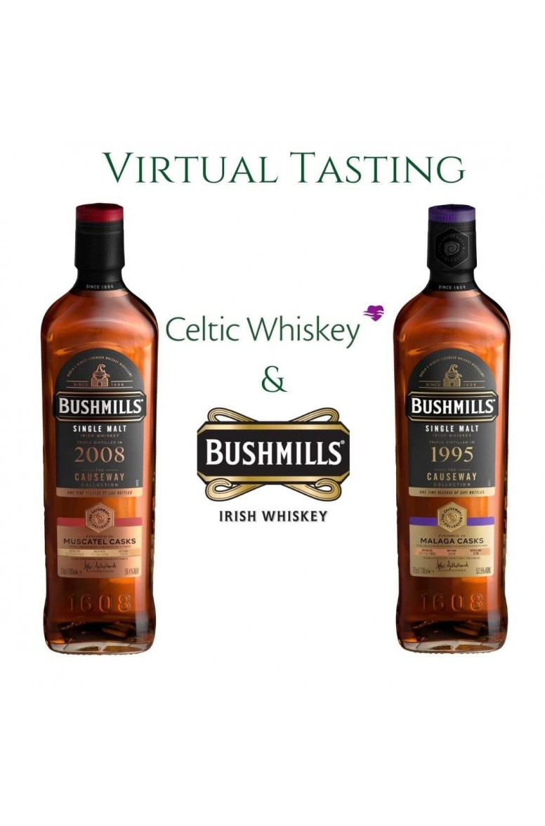 Bushmills Causeway Collection Virtual Tasting Including Delivery